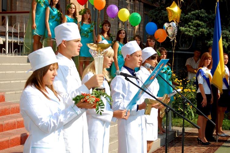 Поздравление с 1 сентября медиков
