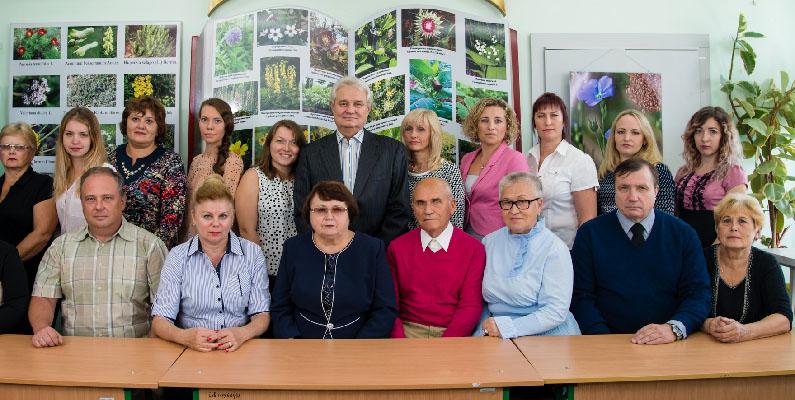 Department of Pharmacognosy, Pharmacology and Botany